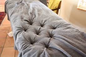 Diy Fabric Tufted Headboard by New How To Make A Tufted Headboard With Buttons 91 About Remodel