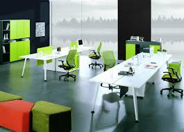 Modern Office Table Design Wood Staff Desk Table New Design Modern Powder Coated Office Furniture