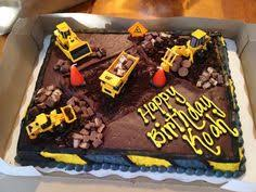 construction birthday cakes construction birthday cake idea 1st and 3rd birthday combined