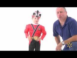 Samurai Halloween Costume Power Rangers Red Ranger Samurai Classic Muscle Child Halloween