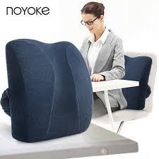 coussin bureau noyoke 41 34 11 cm mousse à mémoire de taille coussin bureau sieste