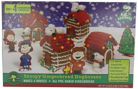 amazon com wild baker snoopy doghouse kit gingerbread house