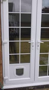 Cat Flap Patio Door Worthy Cat Flap In Glazed Door F20 In Stunning Home