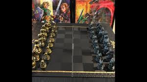 legend of zelda chess set by usaopoly new 2017 youtube