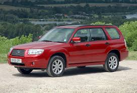red subaru forester subaru forester estate 2002 2008 photos parkers