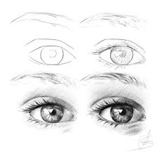 gallery realistic eyes pencil drawing tutorial drawing art gallery