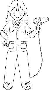 printable community helpers coloring pages for kids coloringstar