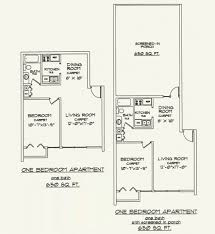 Bath Floor Plans Floor Plans Villa Ravine Apartments
