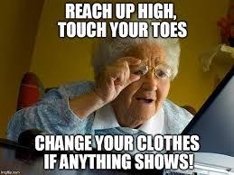 Clothes Meme - grandma finds the internet meme imgflip