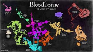 Dark Souls World Map by Complete Maps Of Bloodborne Album On Imgur Bloodborne