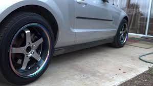 2010 mustang gt tire size 2007 v6 tire size size info ford mustang forum