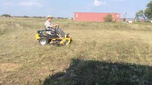 operating the hustler zero turn mower highly recomended youtube