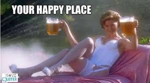 Happy Place Meme - bubba went to his happy place love happy gilmore funny