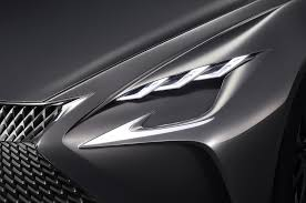 lexus rc f headlights fifth generation lexus ls to be unveiled at 2017 detroit auto show