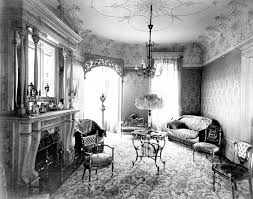 home design eras 1900 home interiors wickwire house cortland new york photograph