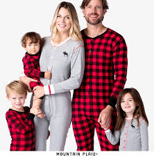 matching family pajamas blue house by hatley canada
