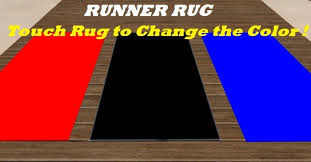 Red Runner Rug Second Life Marketplace Runner Rug Touch To Change Color