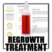 6 month regrowth treatment u0026 shampoo regrow faster cure hair loss