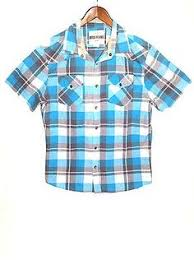 beverly hills polo club long sleeve dress shirt gray u0026 blue size