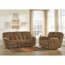 Reclining Living Room Sets Ashley Furniture Hector Reclining Livingroom Set In Caramel
