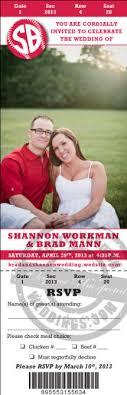 baseball wedding invitations sports themed weddings mlb baseball wedding ticket invitation