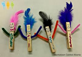 trendy wooden clospin crafts activities ideas wooden n many