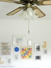primary color ceiling fan a vintage modern nursery hometalk