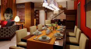 Dining Room Lamps by Dining Room Aluminium Track Lighting With Hanging Bulb Lamp For