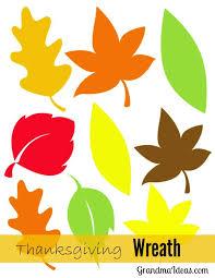 leaf wreath ideas
