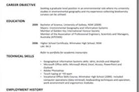 Undergraduate Resume Example by Resume Templates For Science Majors Reentrycorps