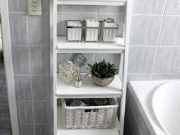 bathrooms design under pedestal sink storage single bathroom