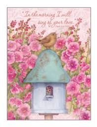 legacy of faith boxed note cards baby bird chorus