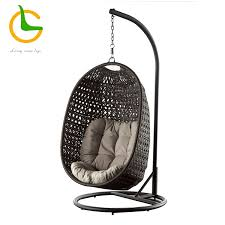 rattan hanging egg chair outdoor swing set single wicker hanging hammock swing chair with stand hammock swing chair with stand egg shaped swing chair