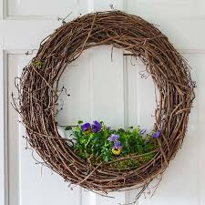 how to make a grapevine wreath hearth vine
