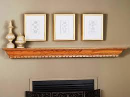 types of fireplace mantel shelf