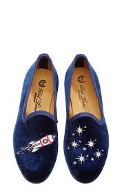 rocket ship children u0027s slippers by del toro moda operandi