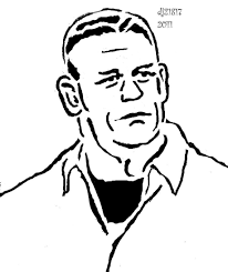 john cena coloring pages printable wwe john cena coloring pages