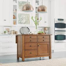 Wood Tops For Kitchen Islands by Home Styles Tahoe Aged Maple Kitchen Island With Wood Top 5412 94