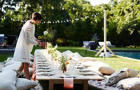Fall Backyard Party Ideas by Erin Scott Throws A Garden Fresh Fall Dinner Party Family