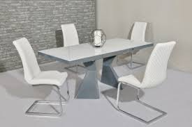 White Gloss Extendable Dining Table High Gloss Dining Tables White Gloss Dining Table 55 Off With
