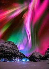 what creates the northern lights just the idea that the world creates this type of splendor makes my