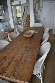 Farm Table Dining Room by Best 25 Reclaimed Dining Table Ideas On Pinterest Wood Dining
