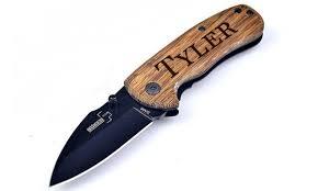 personalized pocket knife personalized pocket knives cabanyco groupon