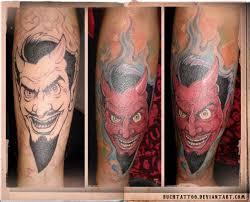 tattoo flash cartoon devil tattoos