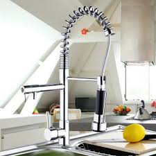 popular spring faucet buy cheap spring faucet lots from china us factory direct sale polished chrome kitchen faucet swivel spring kitchen vessle mixer tap dual