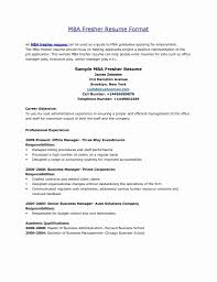 resume formats free 50 best of resume format for mba application free resume mba resume