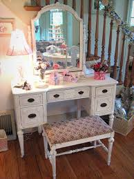 vintage vanity table with mirror and bench chabby chic corner makeup vanity vintage pink vanity desk with