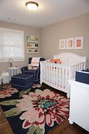 Navy And Coral Crib Bedding Nursery Beddings Navy And Coral Crib Set With Preppy Coral And