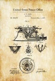 Chef Kitchen Decor by Gas Stove Range Patent 1887 Kitchen Decor Restaurant Decor