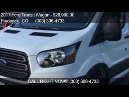 2017 ford transit wagon t 150 8 passenger low miles for sale youtube